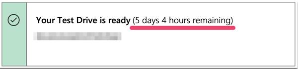 稼働時間の確認画面